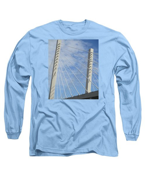 Bridge Long Sleeve T-Shirt by Martin Cline
