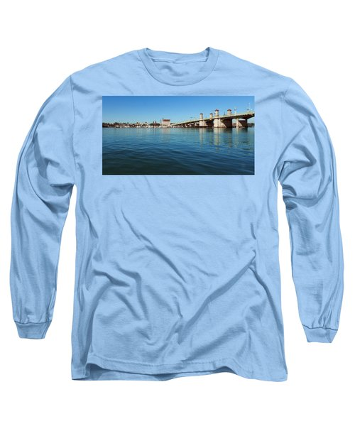 Long Sleeve T-Shirt featuring the photograph Bridge Of Lions, St. Augustine by Rod Seel