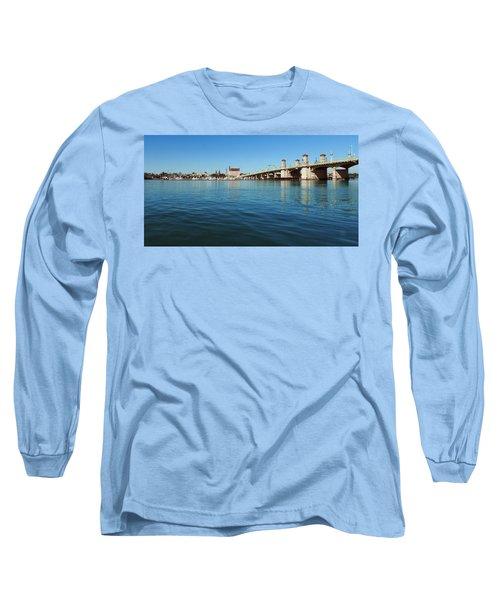 Bridge Of Lions, St. Augustine Long Sleeve T-Shirt