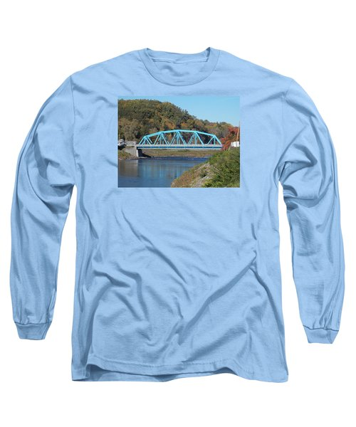 Bridge Over Rondout Creek 2 Long Sleeve T-Shirt