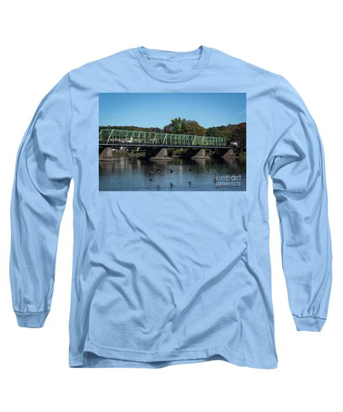 Bridge To Lambertville 2 Long Sleeve T-Shirt