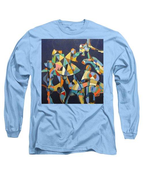 Broken Promises Last Forever Long Sleeve T-Shirt by Bernard Goodman