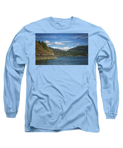 Browns Bay Long Sleeve T-Shirt by Randy Hall