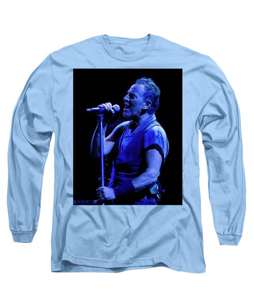 Long Sleeve T-Shirt featuring the photograph Bruce Springsteen-penn State 4-18-16 by Jeff Ross