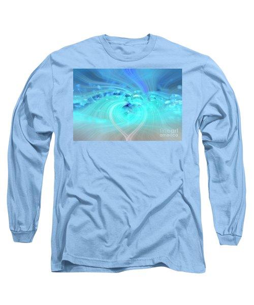 Bubbly Heart Long Sleeve T-Shirt