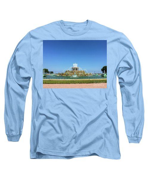 Buckingham Fountain Long Sleeve T-Shirt