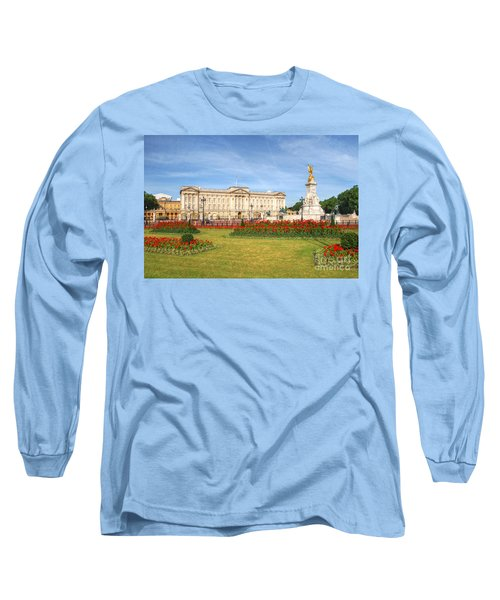 Buckingham Palace And Garden Long Sleeve T-Shirt