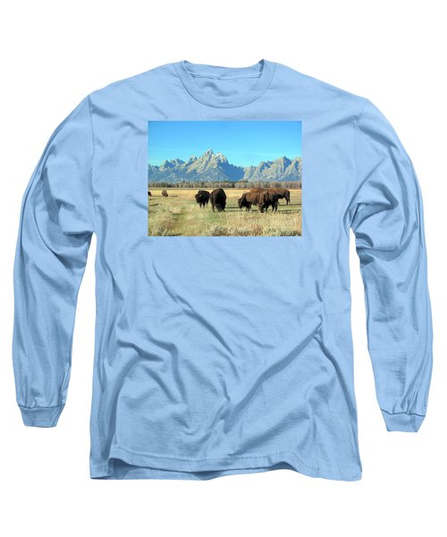 Buffallo  Long Sleeve T-Shirt