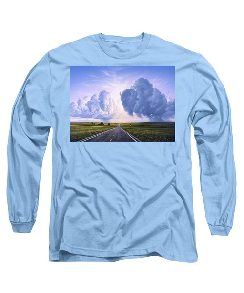 Buffalo Crossing Long Sleeve T-Shirt