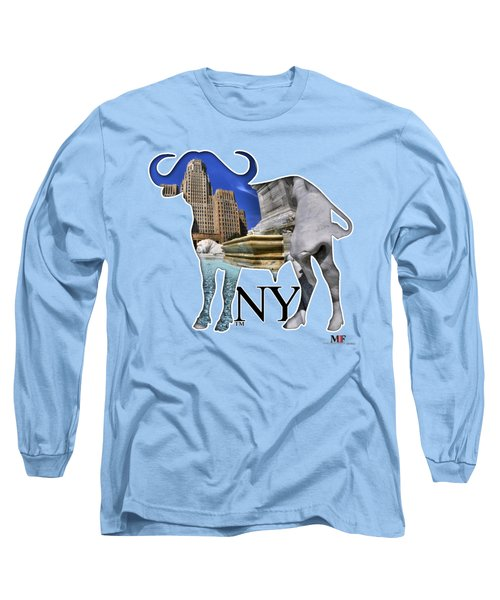 Buffalo Ny City Hall Niagara Square  Long Sleeve T-Shirt