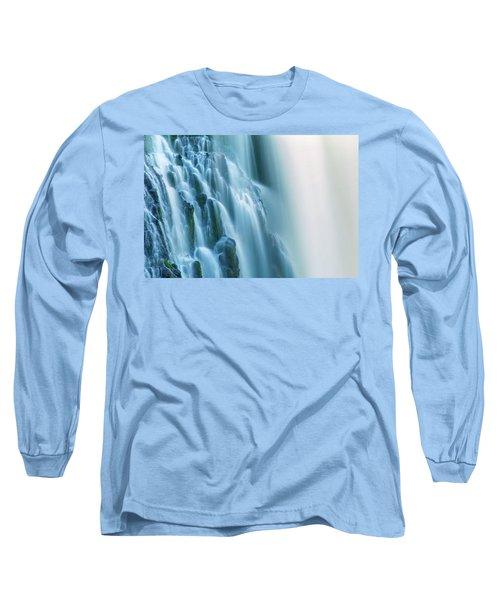 Burney Falls Close Up Long Sleeve T-Shirt