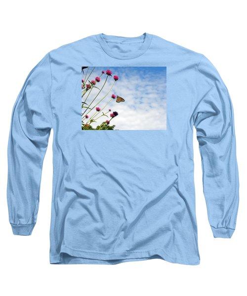 Butterfly Magic Long Sleeve T-Shirt by Teresa Schomig