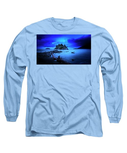 By The Light Of The Moon Long Sleeve T-Shirt by John Poon