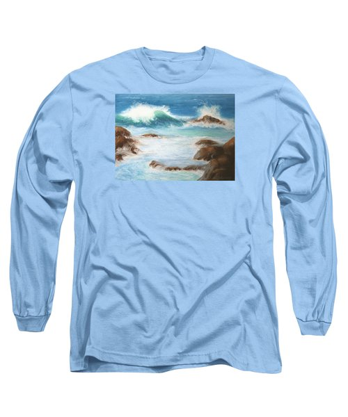 By The Sea Long Sleeve T-Shirt by Marna Edwards Flavell