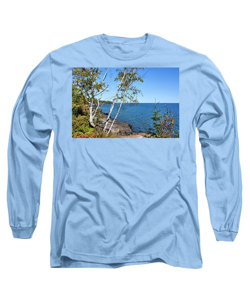By The Shores Of Gitche Gumee Long Sleeve T-Shirt
