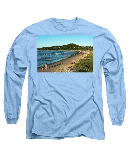 Byron Bay Main Beach Long Sleeve T-Shirt
