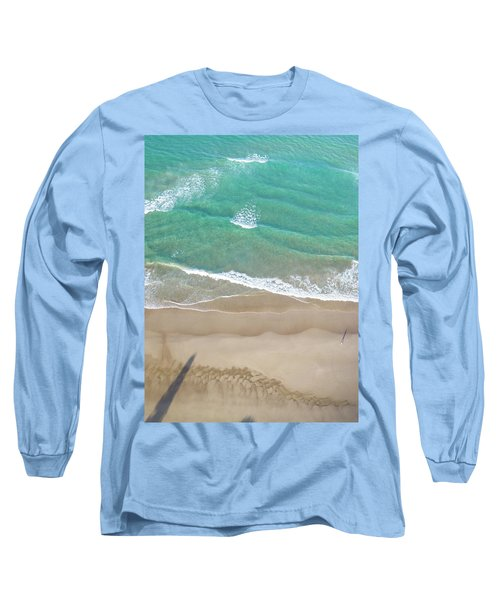 Long Sleeve T-Shirt featuring the photograph Byron Beach Life by Chris Cousins