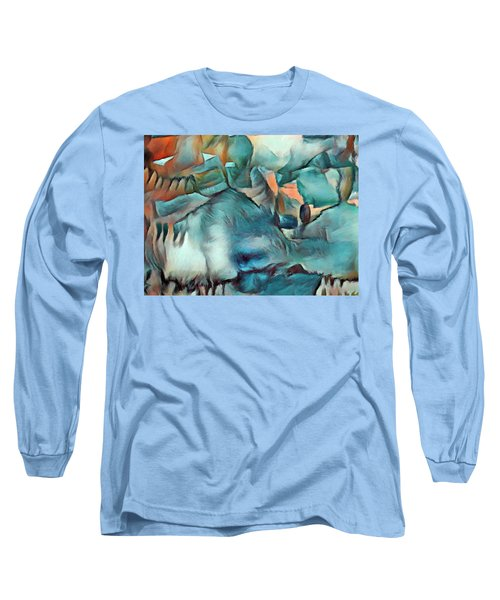 Byzantine Abstraction Long Sleeve T-Shirt