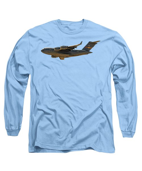 C-17 Globemaster IIi Long Sleeve T-Shirt by Mark Myhaver