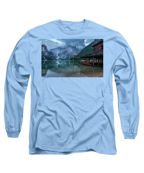 Cabin By The Lake Long Sleeve T-Shirt