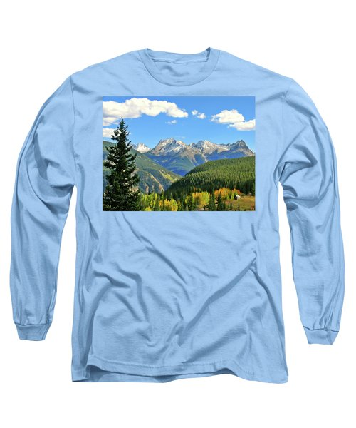 Cabin In The San Juans Long Sleeve T-Shirt