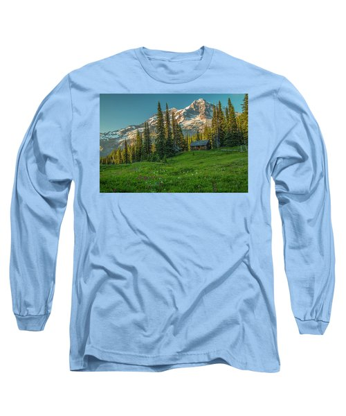 Cabin On The Hill Long Sleeve T-Shirt