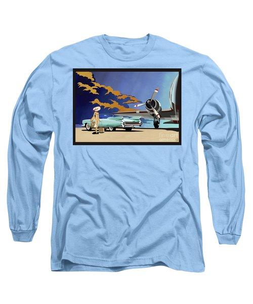 Cadillac Eldorado 1959 Long Sleeve T-Shirt
