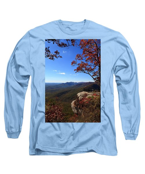Caesars Head State Park In Upstate South Carolina Long Sleeve T-Shirt