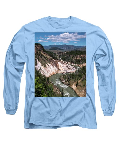 Calcite Springs Overlook  Long Sleeve T-Shirt