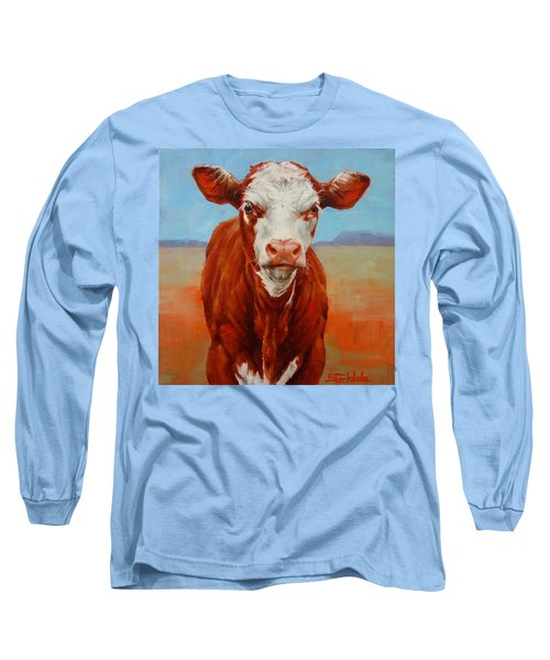 Calf Stare Long Sleeve T-Shirt
