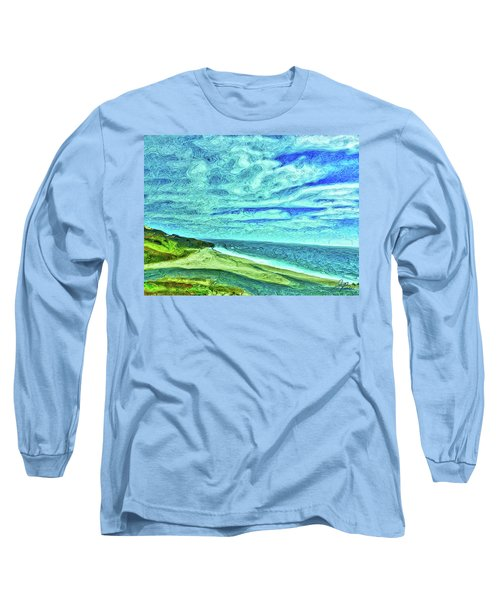 California Coast Long Sleeve T-Shirt by Joan Reese