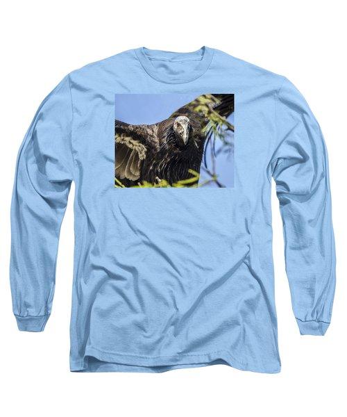 California Condor Portrait Long Sleeve T-Shirt