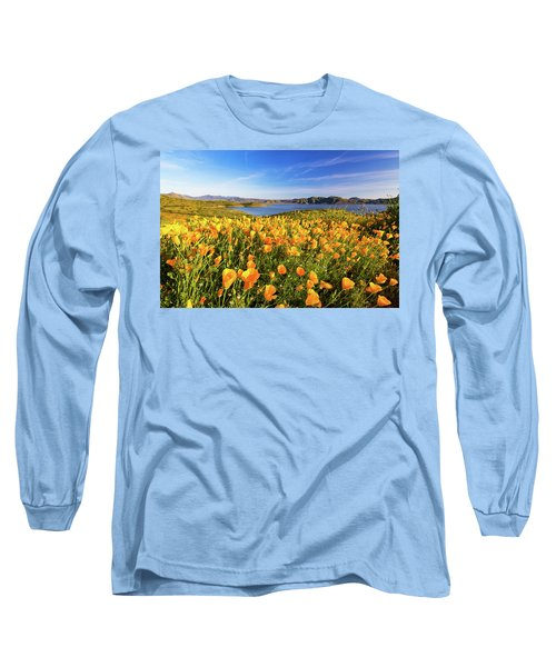 California Dreamin Long Sleeve T-Shirt by Tassanee Angiolillo