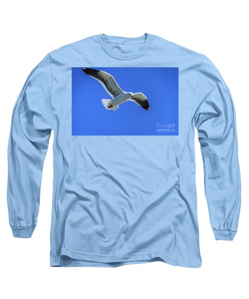 Long Sleeve T-Shirt featuring the photograph California Gull by Robert Bales
