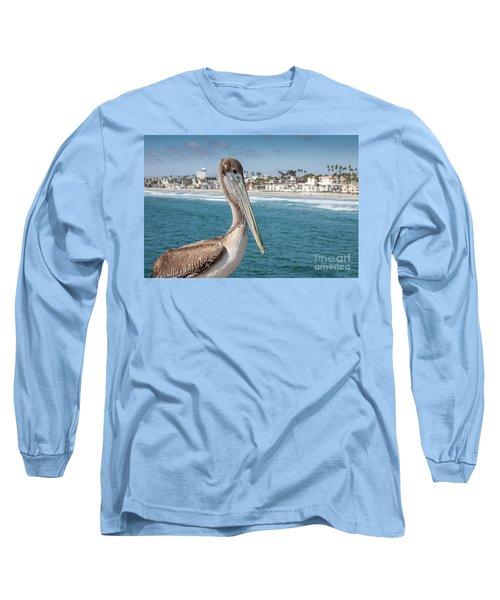 California Pelican Long Sleeve T-Shirt