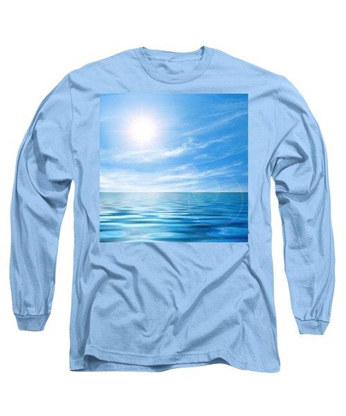 Calm Seascape Long Sleeve T-Shirt