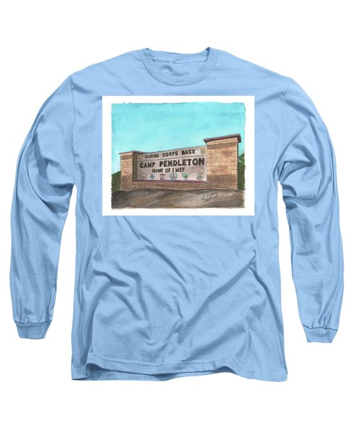 Camp Pendleton Welcome Long Sleeve T-Shirt