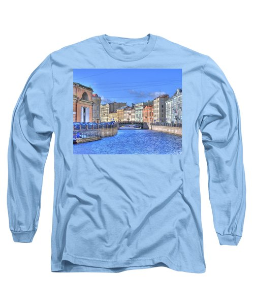 Canal In St. Petersburgh Russia Long Sleeve T-Shirt