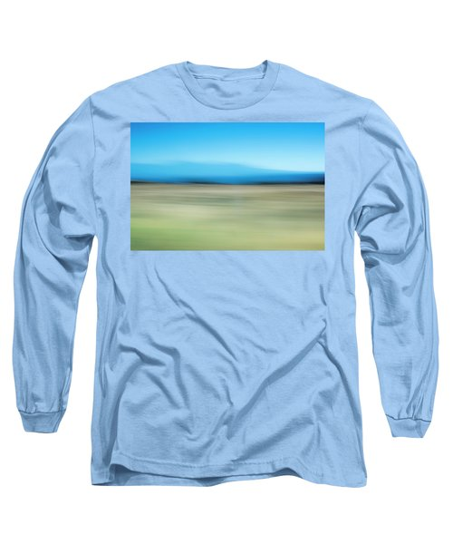 Long Sleeve T-Shirt featuring the mixed media Canyonlands I by Shara Weber