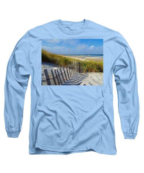 Cape Cod Charm Long Sleeve T-Shirt by Dianne Cowen