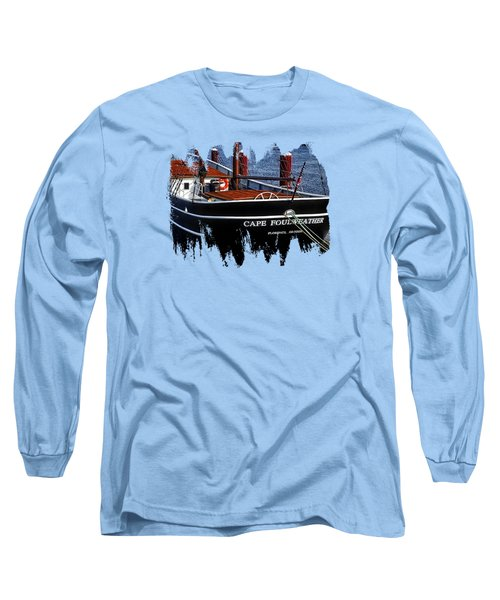 Cape Foulweather Two Long Sleeve T-Shirt by Thom Zehrfeld