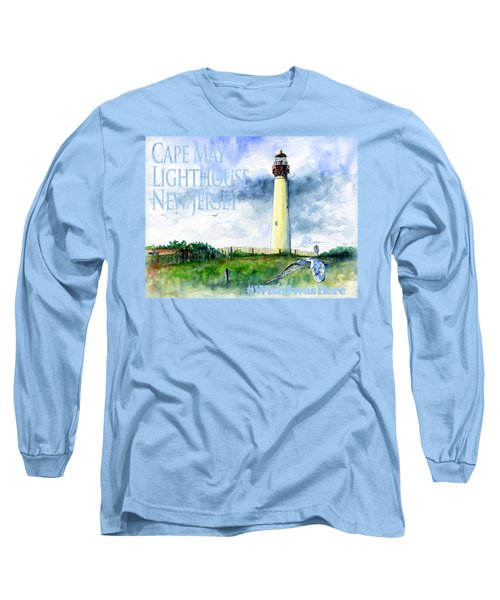 Cape May Lighthouse Shirt Long Sleeve T-Shirt