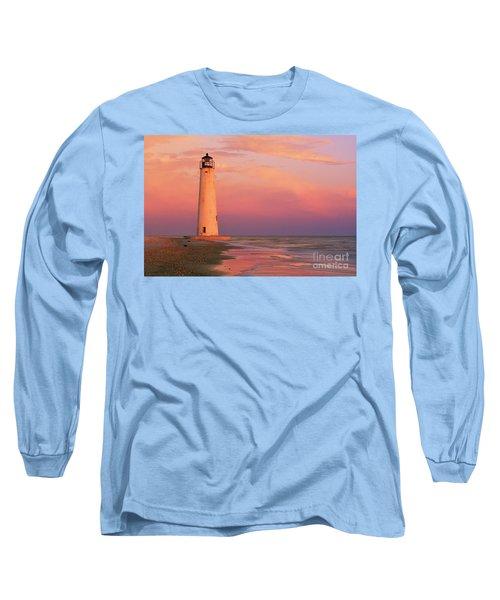 Cape Saint George Lighthouse - Fs000117 Long Sleeve T-Shirt by Daniel Dempster