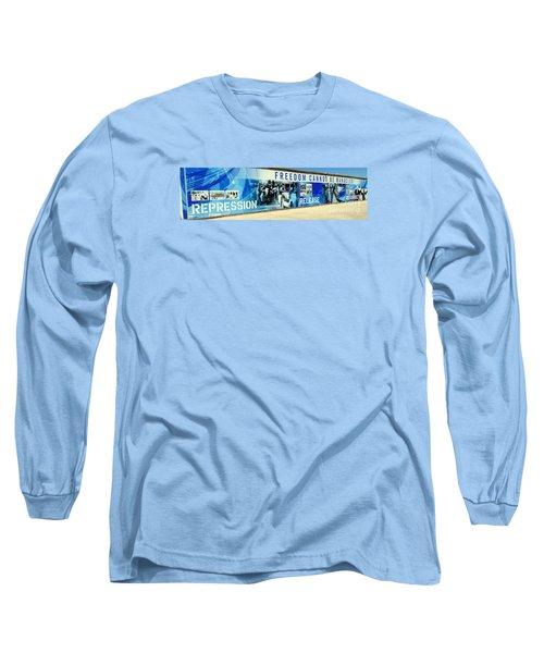 Cape Town Prison Sign Long Sleeve T-Shirt by John Potts