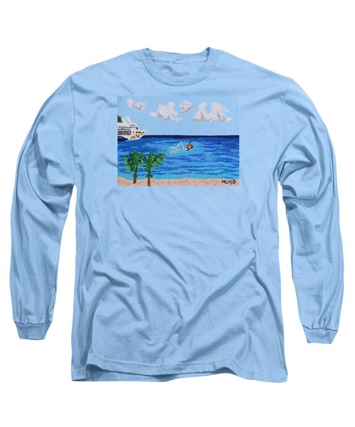 Caribbean Jet Ski Long Sleeve T-Shirt