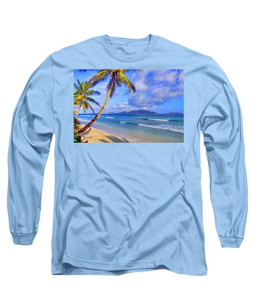 Caribbean Paradise Long Sleeve T-Shirt