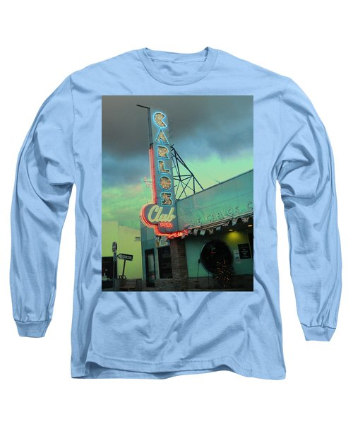 Carlos Club Long Sleeve T-Shirt by Kathleen Grace
