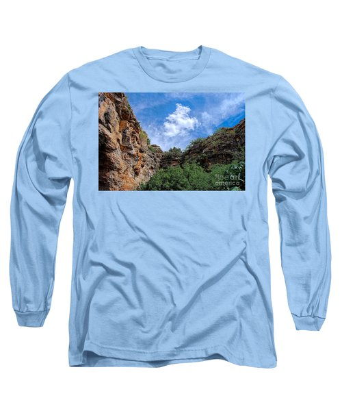 Long Sleeve T-Shirt featuring the photograph Carlsbad Caverns by Gina Savage
