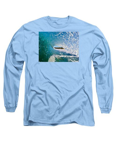 Long Sleeve T-Shirt featuring the photograph Carmel Blues by Paul Topp