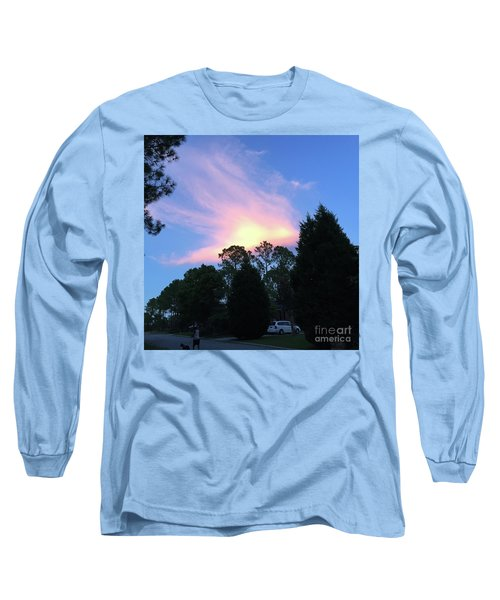 Carolina Summer Sky Long Sleeve T-Shirt